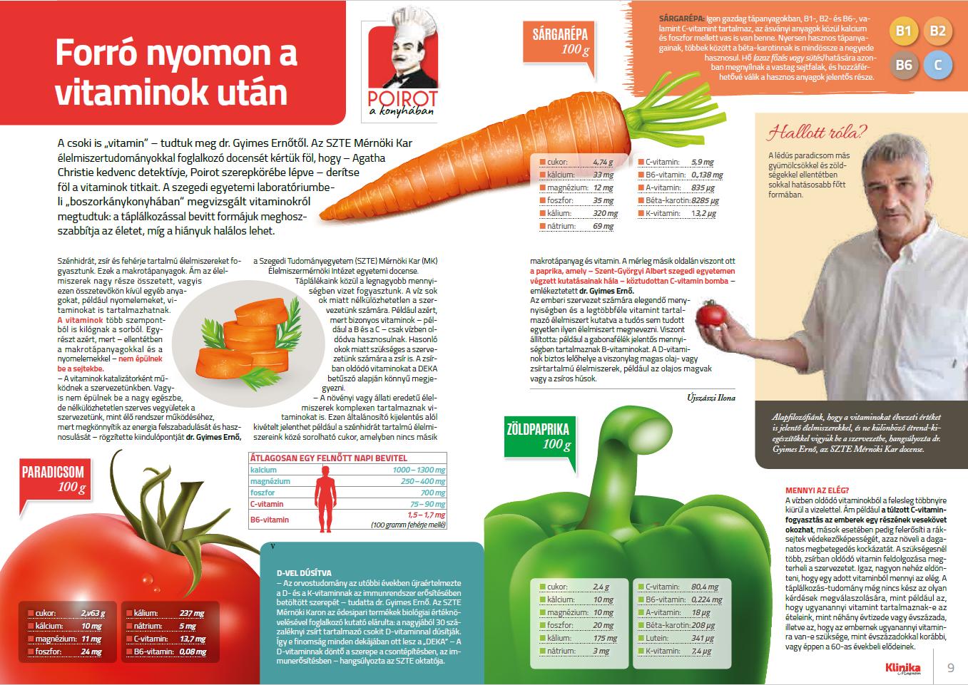 a vitaminok látásra gyakorolt hatása